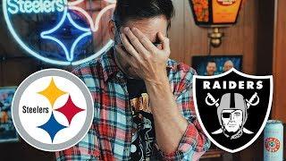 Dad Reacts to Steelers vs Raiders (Week 14)