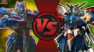 OPTIMUS PRIME vs BURNING GUNDAM! (Transformers vs Gundam) CFC EP 194