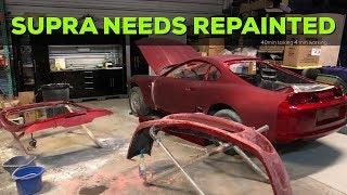 MKIV Toyota Supra Build Needs Repainted...