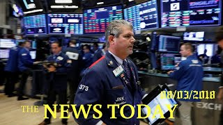 Upbeat Earnings Lift Stocks As Trade Fears Cap Gains And Pressure Dollar | News Today | 08/03/2...
