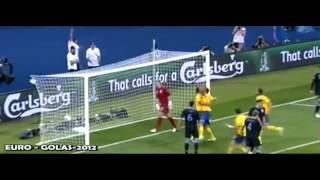 أهداف مباراة إنجلترا والسويد 3-2 يورو 2012 رؤوف خليف