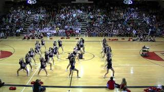 HHS Cheerleaders Hip Hop Dance 2011