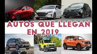 16 Autos que llegarán en 2019 al Perú  | TODOAutos.pe