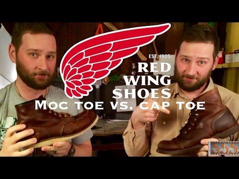 Comparing Red Wing Moc & Cap Toe Heritage Boots Featuring 8111 Iron Rangers and 8138 Moc Toe
