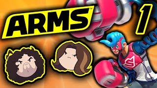 Arms: Pure Concentration - PART 1 - Game Grumps