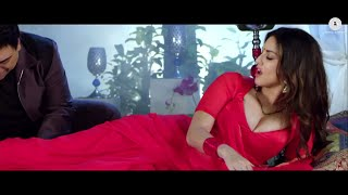 Sunny Leone Red Hot in Red Saree - Huge Boobs Cleavage Song