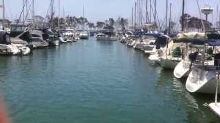 bad day at dana point harbor memorial day 2013 -  boat crash