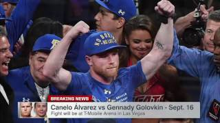 Canelo-Triple G Fight Officially Set For T-Mobile Arena In Las Vegas | SportsCenter | ESPN