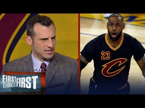 Doug Gottlieb reveals why he s putting Larry Bird and Jordan over LeBron James FIRST THINGS FIRST
