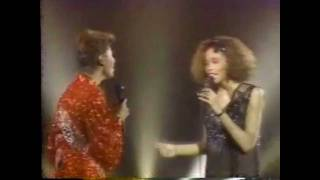 "SOLID GOLD | Dionne Warwick & Whitney Houston | ""You're A Friend of Mine"" 
