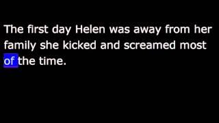 Biography - KH - Helen Keller - Savior to the Blind and Deaf-  Part 1 of 2
