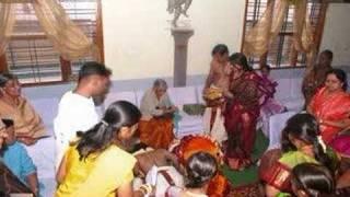 marraige video of Venkatesh and Purnima.