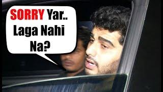 Arjun Kapoor Says SORRY To Media Reporter