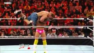 John Cena And Rey Mysterio VS. R -Truth And CM Punk Full Match HD