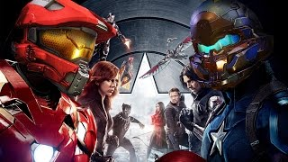 Halo | Captain America: Civil War * Ultimate Fan Trailer Mashup * HD (720p)