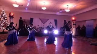 Aaja nachle Ghagra Girls Group Bollywood dance