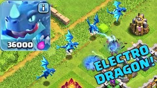 Meet the Electro Dragon | New Troop Confirmed | Clash of Clans Town Hall 12 update!