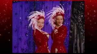 Marilyn Monroe & Jane Russell -Two little girls from Little Rock