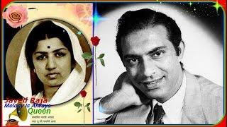 TALAT & LATA-Film-PARBAT-(1952)~Honto Pe Tarane Aa Gaye Ji,Hum To Dilki Tamana-[ Great Gem-78 R