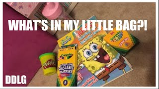 [DDLG] Whats in my little bags?!   |  Little Moo Moo