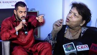 Salman ANGRY At Choreographer Saroj Khan