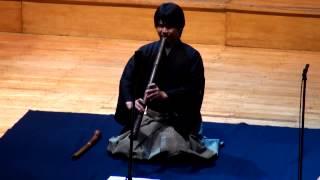 Ken'ichi Tajima (Japón), Flauta Shakuhachi, Kokú, Musica Sacra en San Juan 2012 (ARTbmk★)