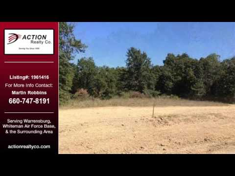 Warrensburg Real Estate Land for Sale. $34,900  - Martin Robbins of ActionRealtyCo.com