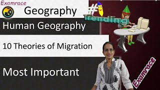 10 Theories of Migration - Fundamentals of Geography