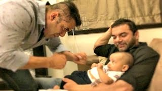 Don't Miss Salman Khan Playing With Sister Arpita Khan Baby Ahil!