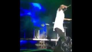 """Wizkid and Chris Brown Perform """"African Bad Girl"""" in South Africa"""