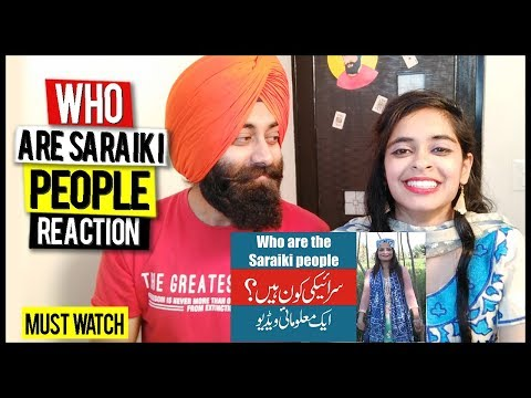 Indian Reaction on Who are the Saraiki (سرائیکی ) People? PunjabiReel TV