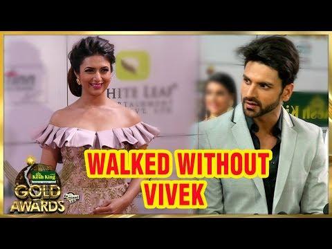 Divyanka Tripathi Spotted Without Vivek Dahiya At Zee Gold Awards 2018