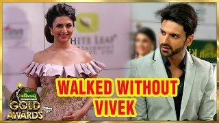 Divyanka Tripathi Spotted Without Vivek Dahiya At Zee Gold Awards 2018