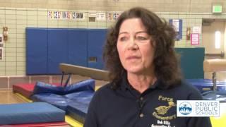 Dedicated Gymnastics Coach Says Goodbye