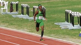 16 y-o Christopher Taylor 46.99 in 400M at 2016 McKenley/Wint Classic