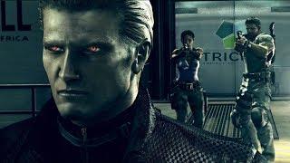 Resident Evil 5: All Bosses / All Boss Fights (4K 60fps)