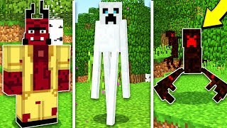 NEW SCARY HALLOWEEN MOBS IN MINECRAFT!