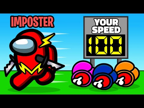 IMPOSTORS are 500 FASTER in Among Us Mini Game