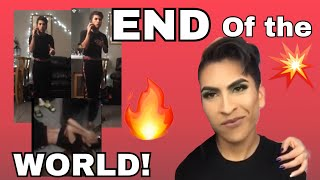 PRANKING LOUIE! | End of the world prank