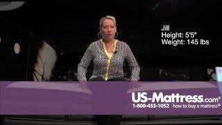 Simmons Beautyrest Black Desiree Luxury Firm Mattress Comfort Depth with Jill