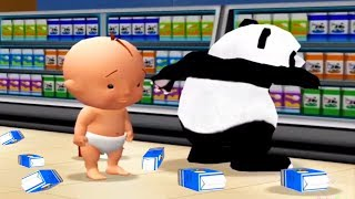 Baby Play Supermarket   Learn To Be Polite   Fun Educational Games For Kids