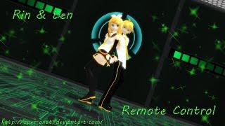 [MMD] Older Rin & Len -  Remote Control (warning: crazy camera alert XD)