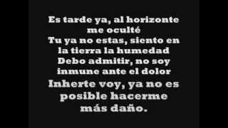 Aleks Syntek -  La Tormenta (Lyrics)