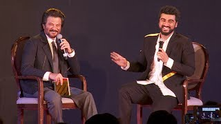 Arjun Kapoor & Anil Kapoor FUNNY Moments At Mubarakan Promotions