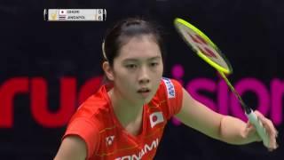 Princess Sirivannavari Thailand Masters 2017 | Badminton SF M2-WS | Aya Ohori vs Nitchaon Jindapol