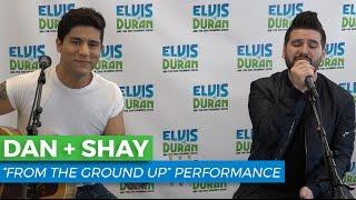 Dan  Shay  From The Ground Up Acoustic  Elvis Duran Show
