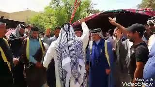 استعراض قبيله السواعد بيت زامل لمأتم المورحوم الشيخ سعدون خزعل