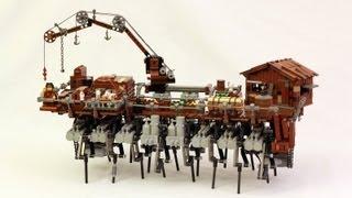 LEGO Steampunk Walking Ship (Strandbeest)