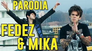 PARODIA FEDEZ & MIKA BEAUTIFUL DISASTER(#ESCILEMINNE) - iPantellas