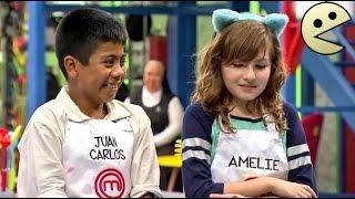 ORIGEN DEL MOMO de Juan Carlos y Amelie (Vídeo) /Máster chef junior/ || Los Momos (Parodia) ~ FN